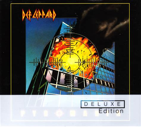 deluxe edition blood and honor metal def leppard pyromania 1983