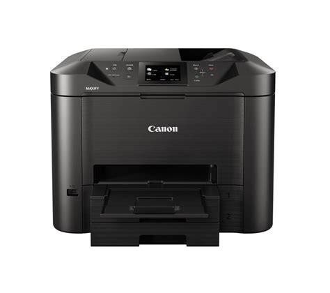 Printer Canon Fax canon maxify mb5450 all in one wireless inkjet printer with fax deals pc world