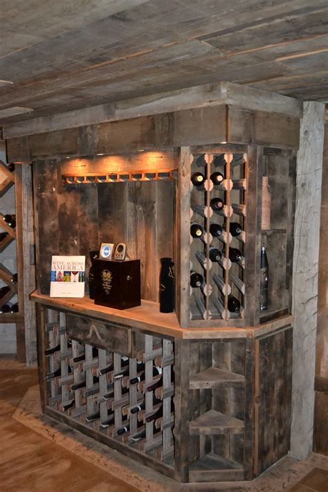 Kitchen Towel Bars Ideas by Custom Reclaimed Wine Cellar Cabinets Rustic Furniture
