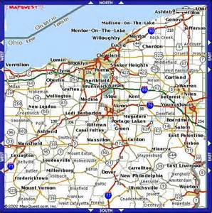 map of cleveland map of cleveland ohio pictures to pin on pinsdaddy