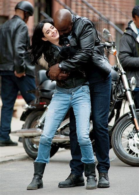 krysten ritter mike colter david tennant feature in a k a jessica jones les premi 232 res images de luke cage