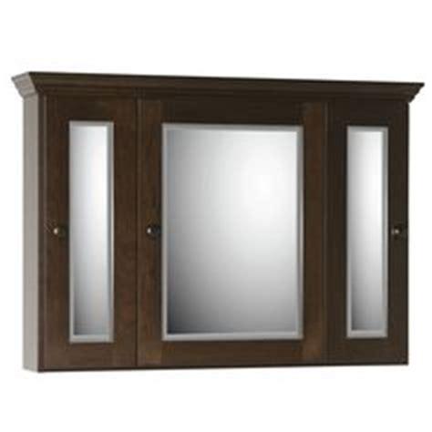 48 Inch Medicine Cabinet by Design House 541367 Ventura Tri View Medicine Cabinet