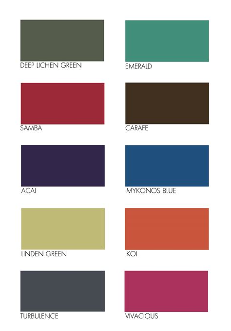 colours that go with pantone colours are now divulged for all to see
