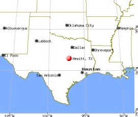 hewitt map hewitt tx profile population maps real estate
