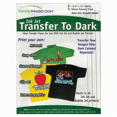 How To Make Fabric Transfer Paper - transfer magic ink jet transfer paper for fabric 8 1