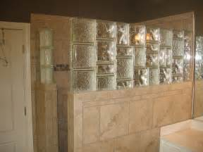 glass block bathroom ideas glass block tile shower wall glass block
