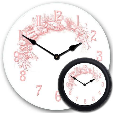 shabby chic clock shabby chic pink clock the big clock store