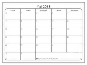 Calendrier 2018 Mai Calendriers Mai 2018 Ld