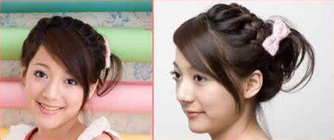 cara mengepang rambut side review rambutkurambutmu