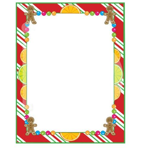 printable christmas frames kids borders and frames clipart best