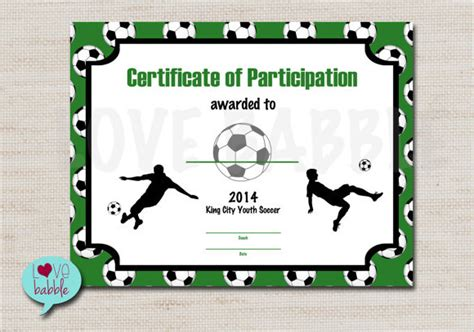Football Certificates Templates football certificate template 16 documents in pdf psd word