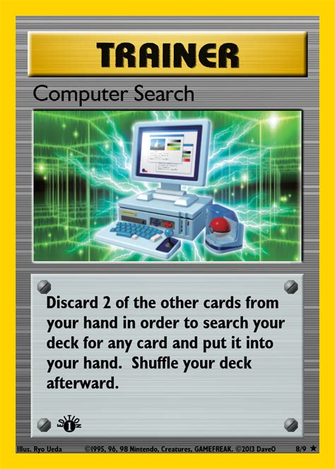 Computer Search 8 Of 9 Computer Search Custom Card By Iamthedaveo On Deviantart