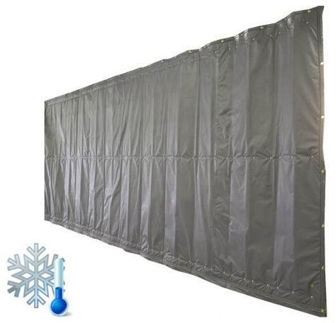freezer curtains insulated insulated curtains akon curtain and dividers