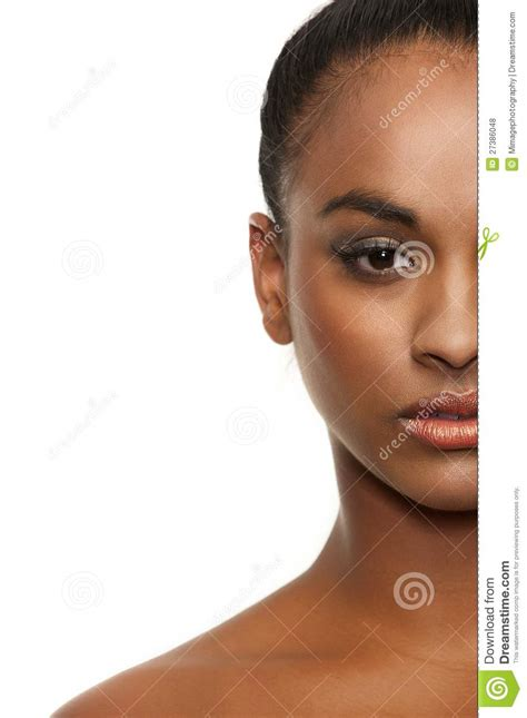 Useless Cosmetics Time To Mix by Mixed Race Stock Photo Image Of Nature Purity