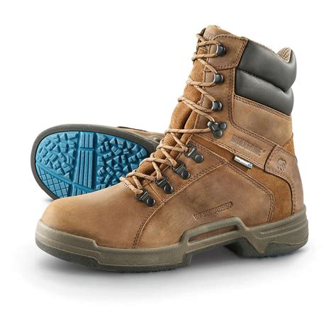 wolverine steel toe shoes s steel toe wolverine griffin durashocks sr waterproof