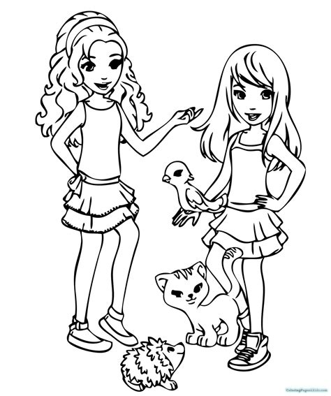 lego friends jungle coloring pages lego friends coloring pages coloring pages for kids