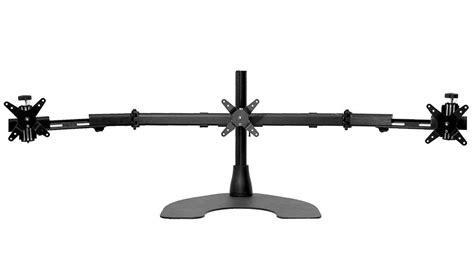 Ergotech Triple Horizontal Lcd Monitor Arm Desk Stand Ergotech Horizontal Lcd Monitor Arm Desk Stand