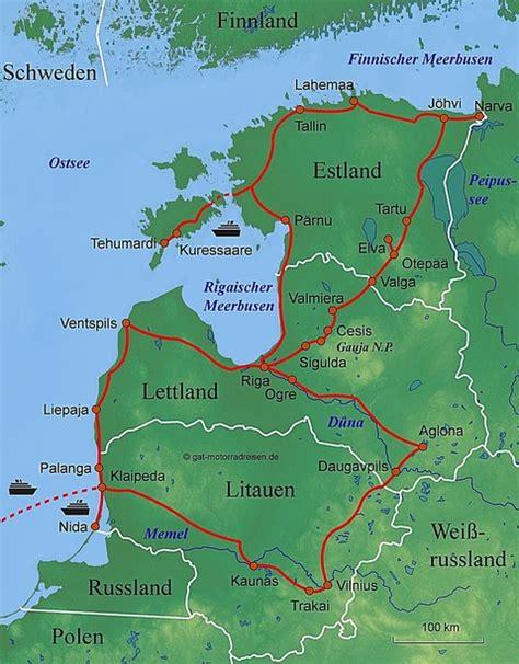 Motorrad Tour Baltikum by Motorradreise Baltikum Gef 252 Hrte Motorradtouren