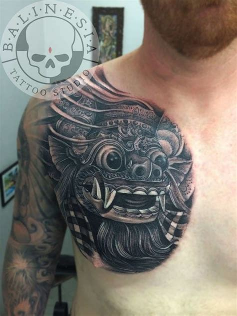 altar tattoo bali location 16 fabulous balinese mask tattoos tattoodo