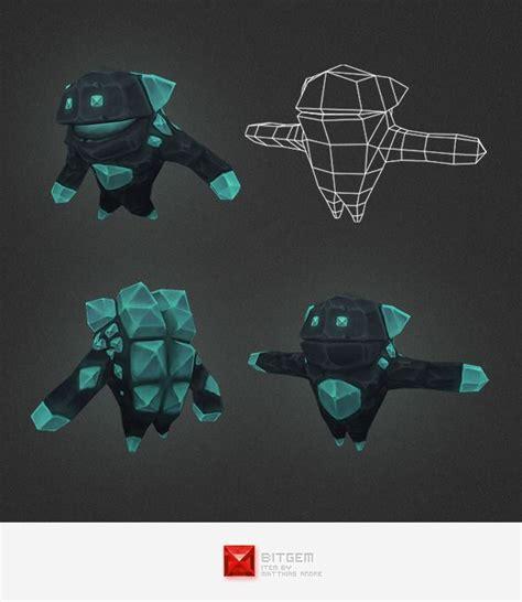 maya werewolf tutorial low poly crystal elemental 3docean item for sale 3d