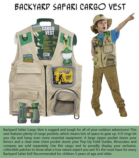 backyard safari vest 10 products to keep your kids engaged and learning this summer