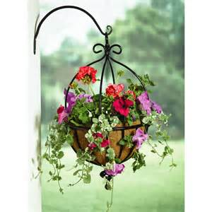 Trellis Planter Box Spanish Hanging Basket Flowers Not Included