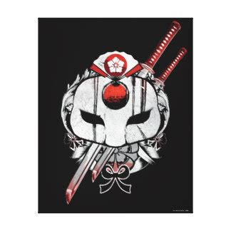 Baju Print Suiciad Squad 8 squad wrapped canvas prints zazzle au