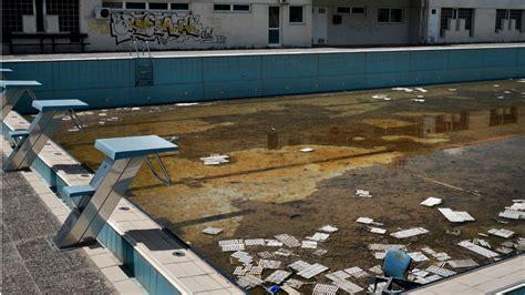 stuhl schwimmt die vergessenen sportst 228 tten hier verrottet olympia
