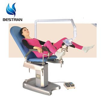 sedia ginecologica bt gc001 china factory sale electric gynecologist chair