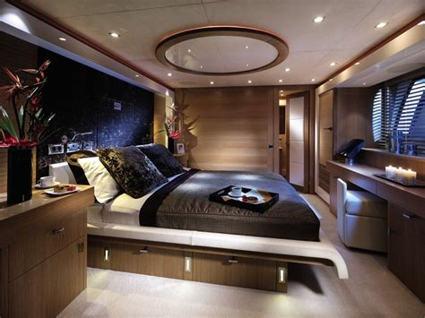 4 bedroom catamaran yacht furniture design for luxury interior