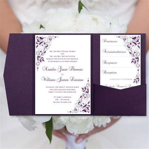 purple and gold wedding invitations purple and gold wedding