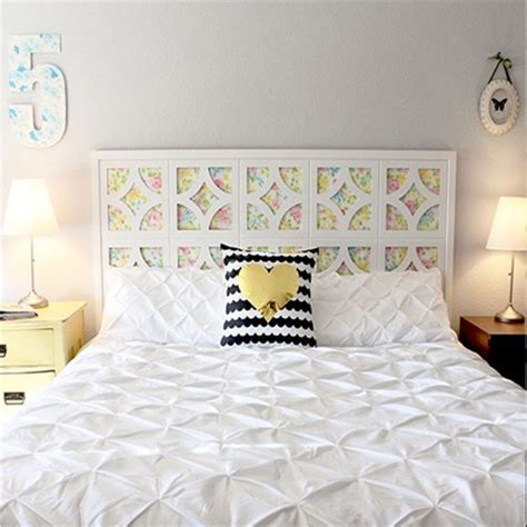 make headboard home dzine bedrooms surprisingly easy diy headboard ideas