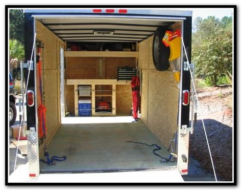 Cargo Trailer Shelving Ideas Outdoors Pinterest Used Cargo Shelving For Sale