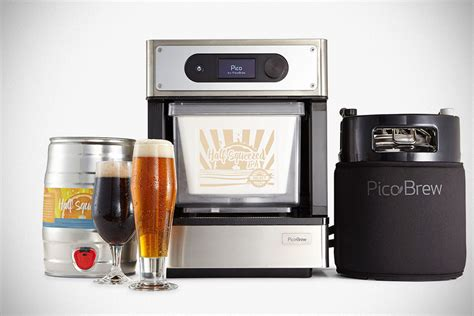 pico is a complete automated brewing system that makes 5l