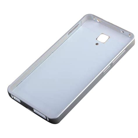 Xiaomi Redmi Mi4 Mi 4 Tempered Glass Alumunium Metal Bumper tempered glass back cover aluminum frame for xiaomi 4