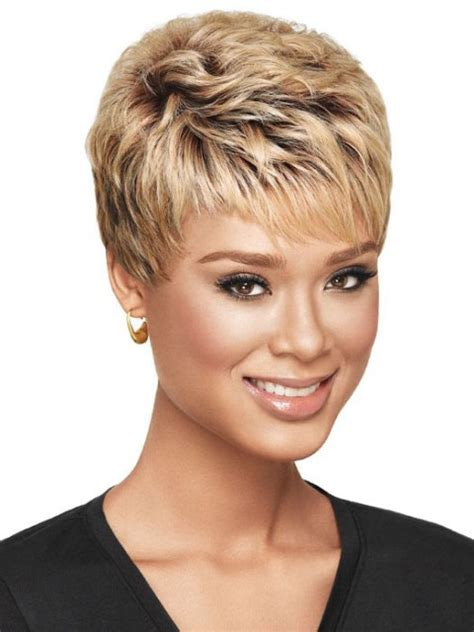 elfin hairstyles textured pixie haircut for black women for the soul