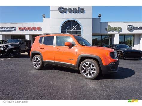jeep renegade orange interior 2017 omaha orange jeep renegade latitude 116806093 photo