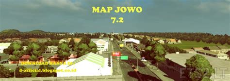 map jowo   indonesian map  ets  ets  mods