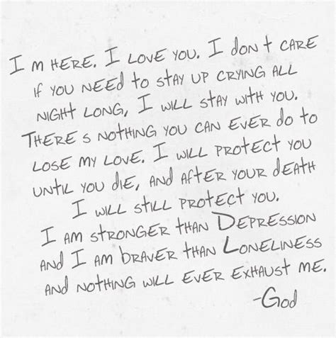 Letter From God A Letter From God Things I