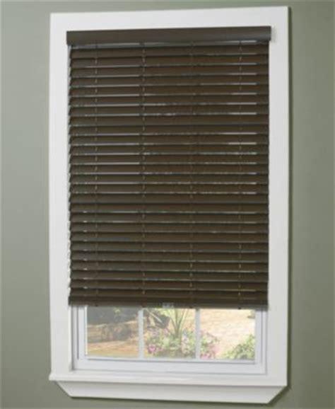 Basic Window Blinds Home Basics Traditional Faux Wood Shutter Macy S