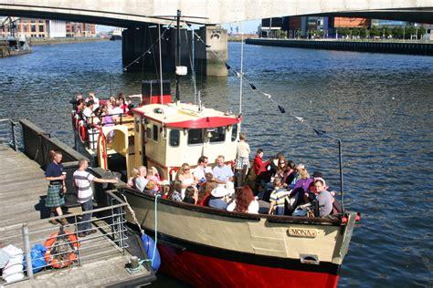 titanic quarter boat tour titanic boat tour titanic in belfast belfast