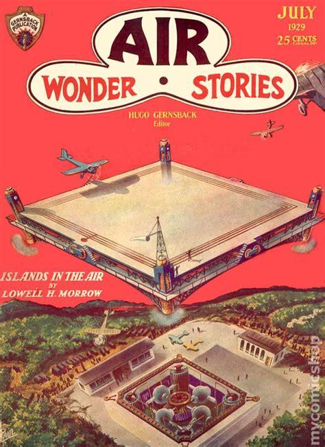in air in books air stories 1929 pulp comic books
