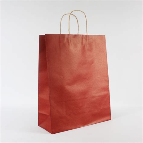 wholesale custom logo paper packaging gift bag with