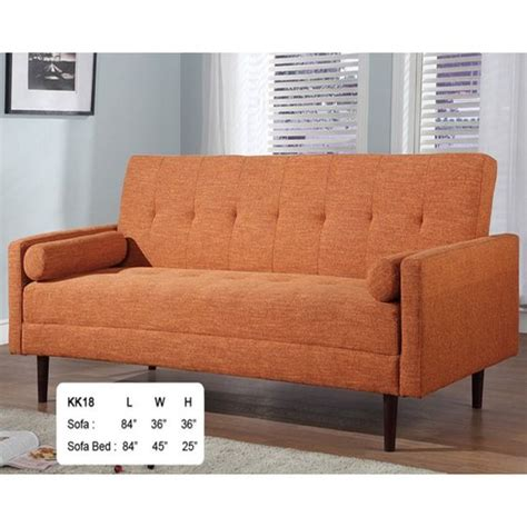 orange sleeper sofa ahu kk18 orange modern sofa sleeper ideas for my new