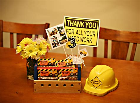 construction birthday party ideas photo 5 of 14 catch