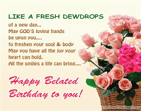 Belated Birthday Quotes For Friend Happy Birthday Sush Jani Page 3 4027639 Members