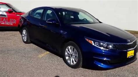 Kia Optima Premium Package 2016 Kia Optima Ex Premium Package Horizon Blue