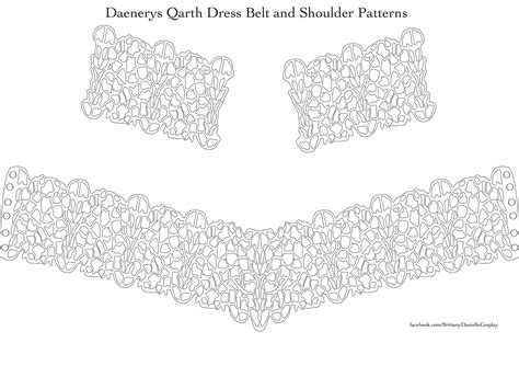 pattern for qarth dress daenerys targaryen qarth dress tutorial google search