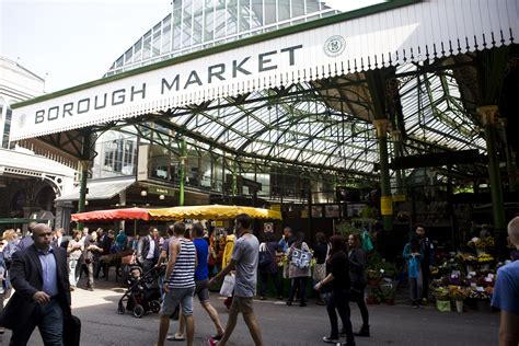 Borough Market In London Seagirll
