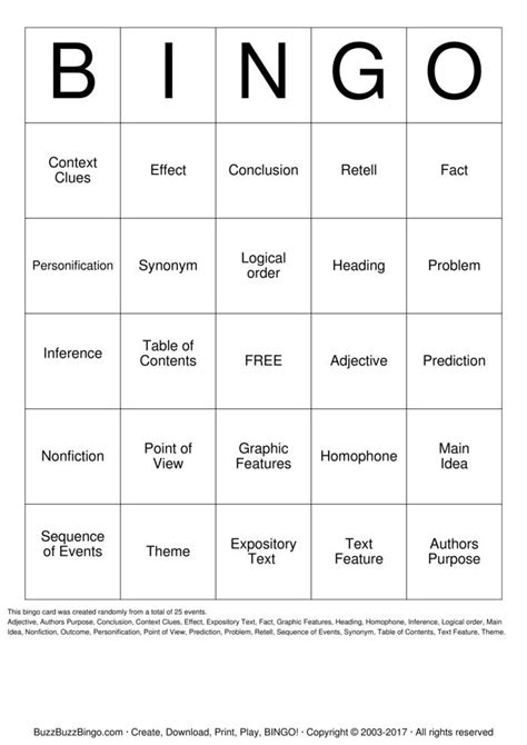 fact pattern synonym custom bingo cards to download print and customize